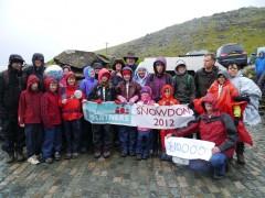 Snowdon Trek June 2012