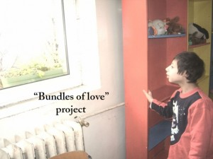 """""""Bundles of Love"""" Project - Visiting orphans and disables children at Christmas time"""