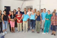 Painting Team from the UK - Sept 2012