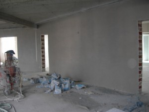 Plastering the Centre - June 2009