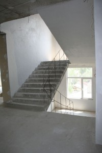 Plastering of staircases - June 2010