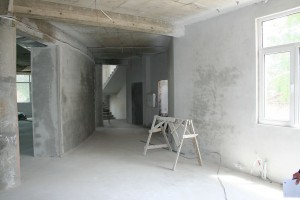 Plastering - June 2010