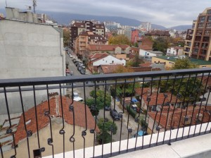 Top floor balcony - November 2012