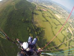 Geoff - Scary Paraglider Flight